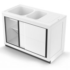 Vendée 90/Normandie 120 : meuble composite PVC
