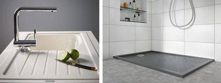 Carea Sanitaire : cuisine et salle de bains : éviers ...