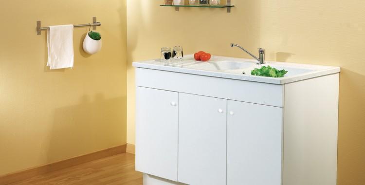 Carea sanitaire vend e normandie meuble m lamin carea - Meuble cuisine melamine blanc ...