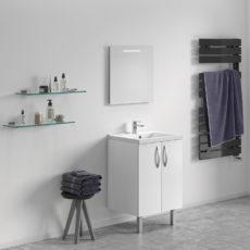 Concept meuble-vasque TOUCAN 600 – 2 portes
